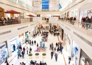 Fluxo de Pessoas no Shopping